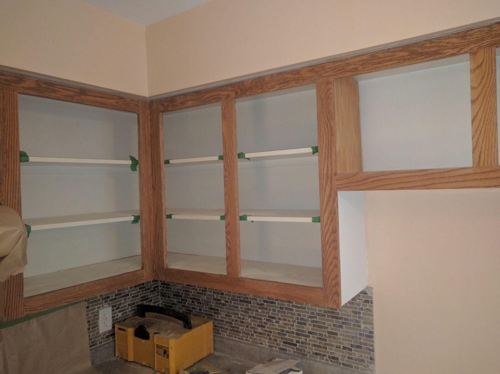 armoires de cuisine en ch ne nous les remettons a neuf r nover sa cuisine. Black Bedroom Furniture Sets. Home Design Ideas