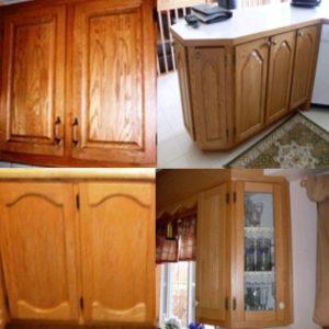 Armoires de cuisine en ch ne r nover sa cuisine - Renover sa cuisine en chene ...
